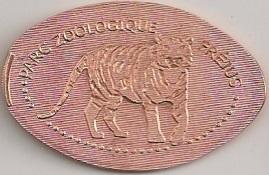 Elongated-Coin = 31 graveurs Zoo12