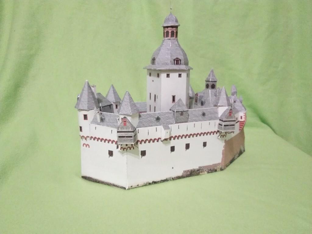 Burg Pfalz im Rhein bei Kaub M1:160 von Schreiber-Bogen Kartonmodellbau geb. benlut  - Seite 2 Img_2056
