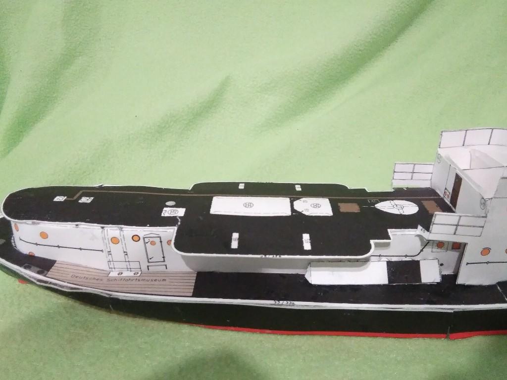 Walfangdampfer RAU IX von Deutsches Schiffahrtmuseum geb. benlut Img_2075