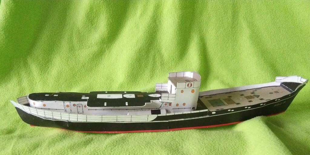 Walfangdampfer RAU IX von Deutsches Schiffahrtmuseum geb. benlut Img_2077