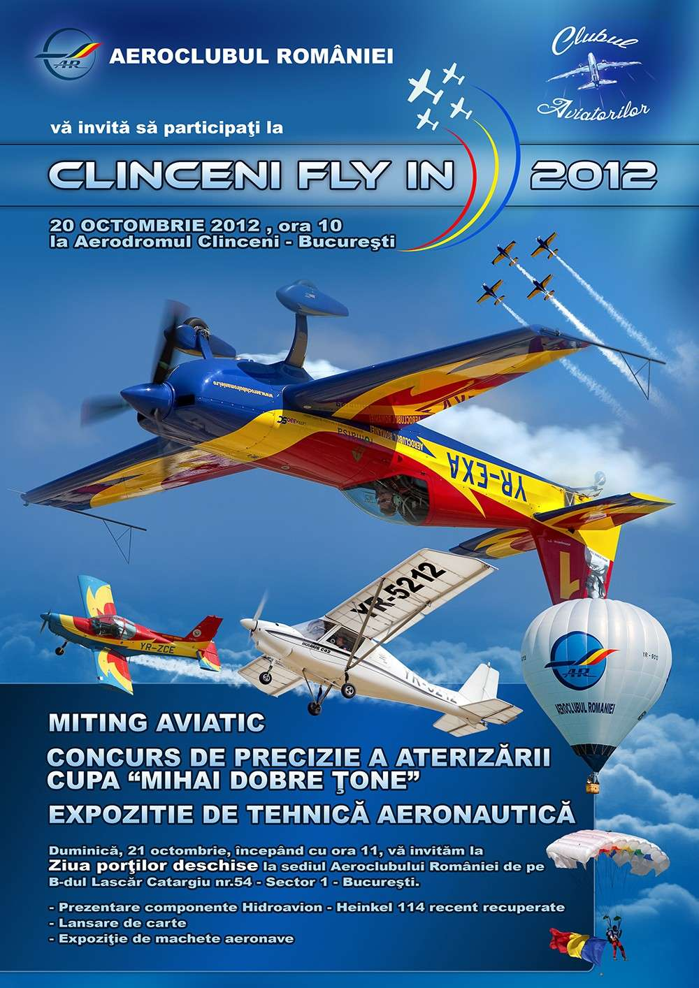 Clinceni Fly In - 20-21 Octombrie Poster10