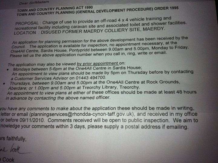 Planning Application for new pay n play  Untitl10