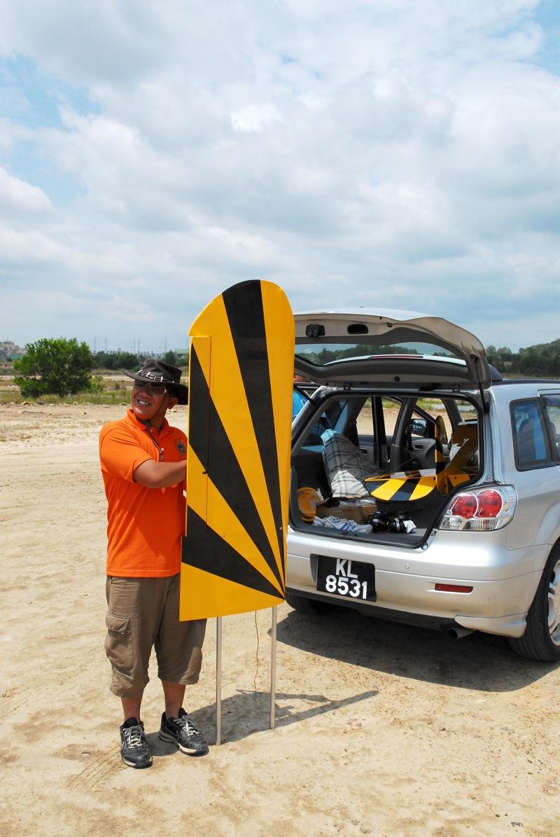 Jerry's 1/3 Scale Piper Cub @ Tanah Jambu Field Jerry_11