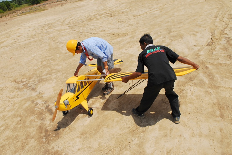 Jerry's 1/3 Scale Piper Cub @ Tanah Jambu Field Jerry_18