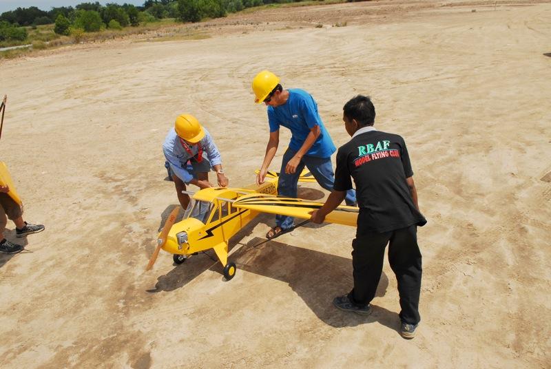 Jerry's 1/3 Scale Piper Cub @ Tanah Jambu Field Jerry_19