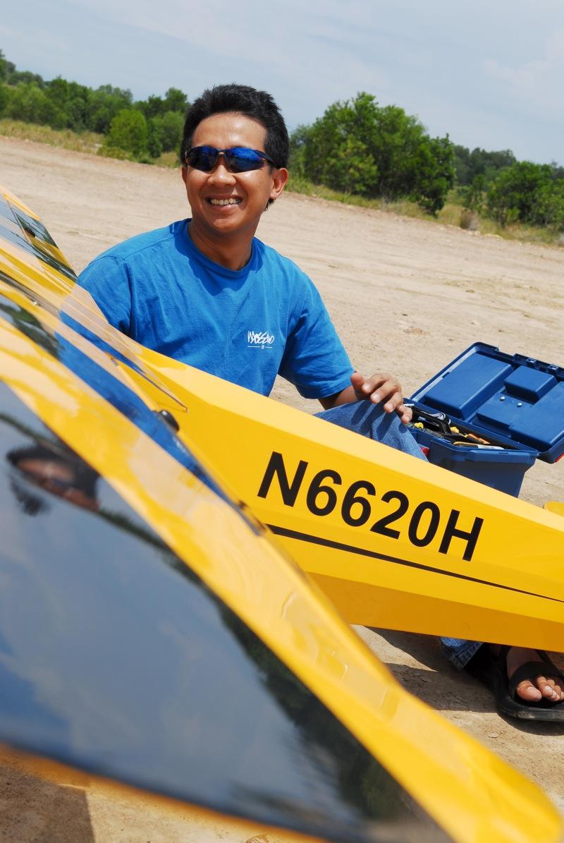 Jerry's 1/3 Scale Piper Cub @ Tanah Jambu Field Jerry_25