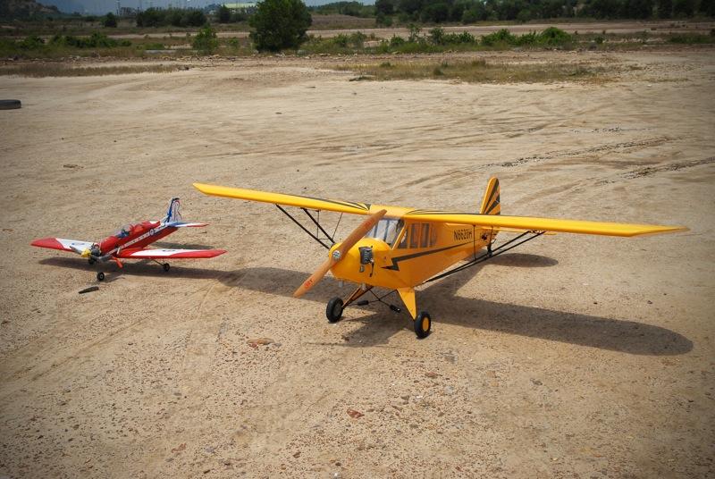 Jerry's 1/3 Scale Piper Cub @ Tanah Jambu Field Jerry_28
