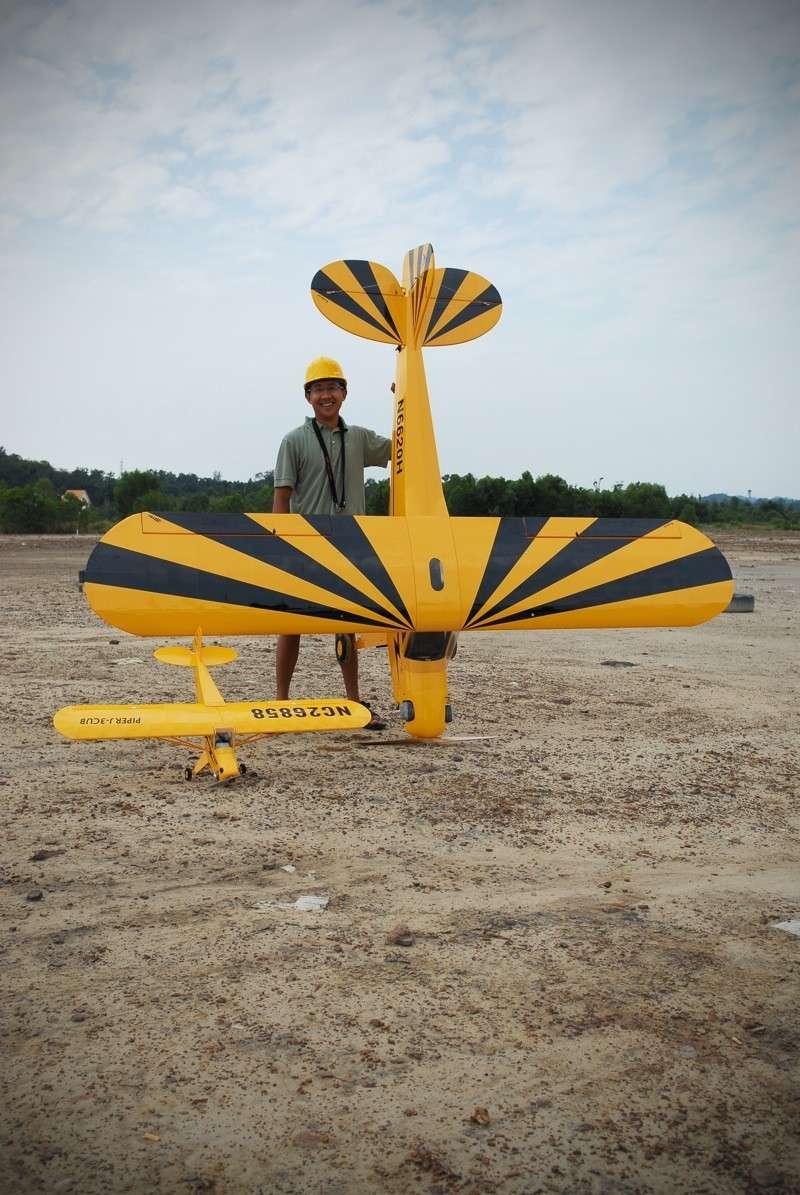 Jerry's 1/3 Scale Piper Cub @ Tanah Jambu Field Jerry_33