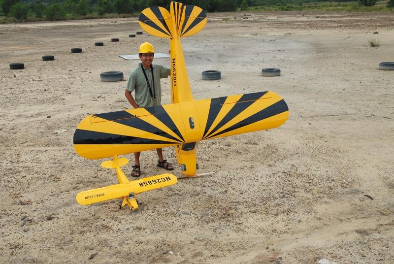 Jerry's 1/3 Scale Piper Cub @ Tanah Jambu Field Jerry_34