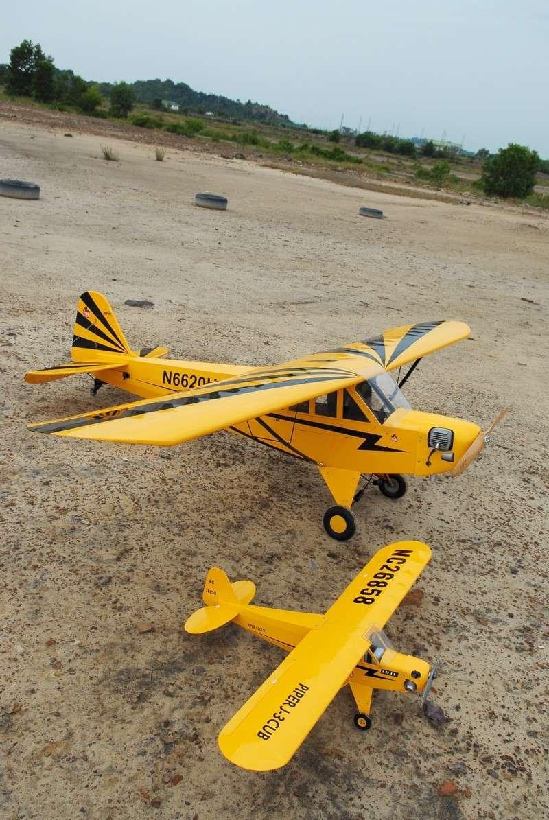 Jerry's 1/3 Scale Piper Cub @ Tanah Jambu Field Jerry_35