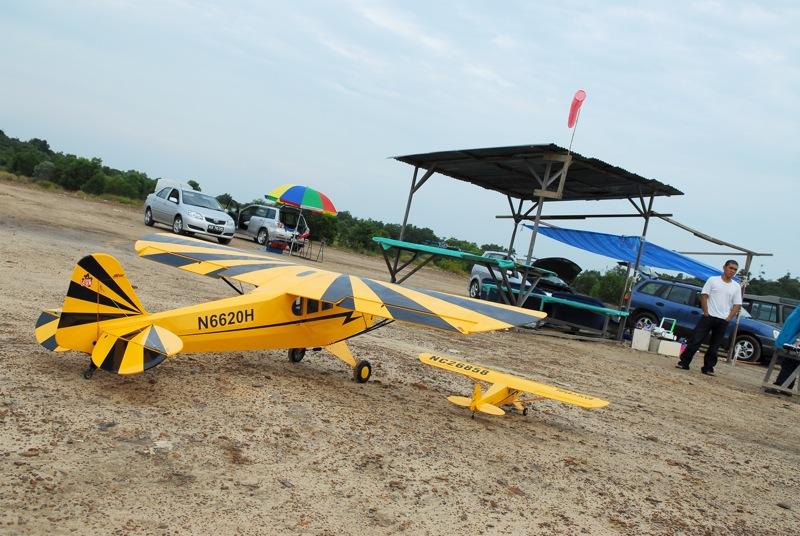 Jerry's 1/3 Scale Piper Cub @ Tanah Jambu Field Jerry_36