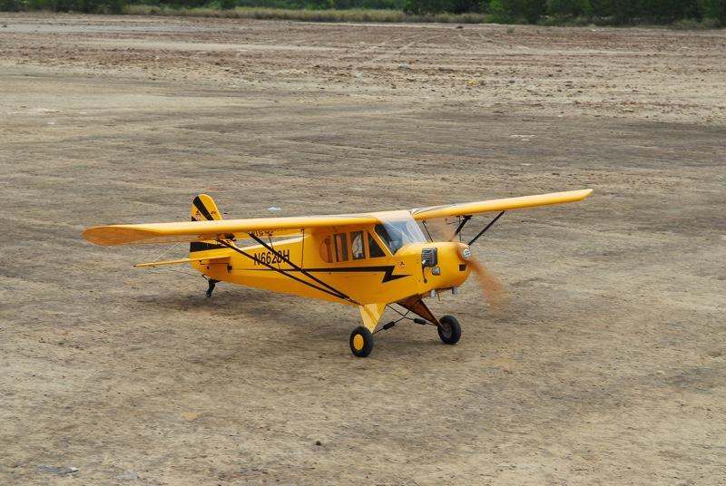 Jerry's 1/3 Scale Piper Cub @ Tanah Jambu Field Jerry_40