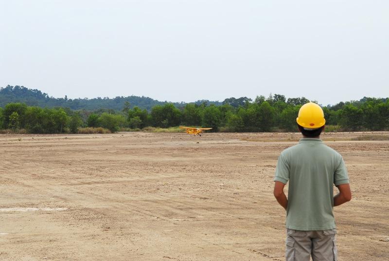 Jerry's 1/3 Scale Piper Cub @ Tanah Jambu Field Jerry_46