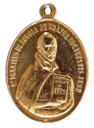 Medalla ignaciana del siglo XIX P1080910