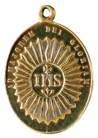 Medalla ignaciana del siglo XIX P1080911