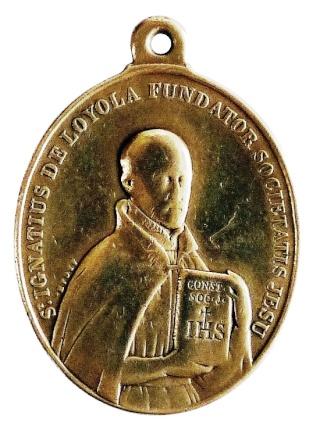 Medalla ignaciana del siglo XIX P1080912