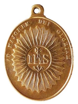 Medalla ignaciana del siglo XIX P1080913