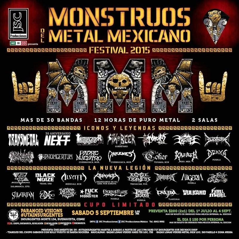 2015 - 09 - 05 : Monstruos del Metal Mexicano 2015 11800410