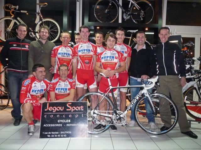 Rappel remise des vélos chez Jegou Sport VENDREDI 7 Equipe10