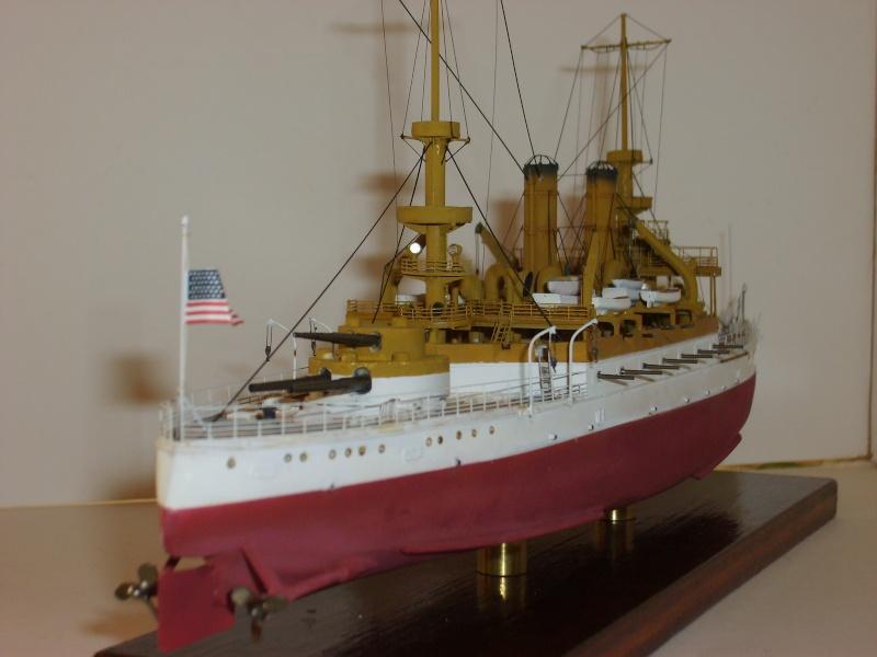 USS BB5 KEARSARGE par Alex M au 1/350 - Ironshipwhright S6000114