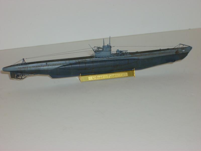 sous marin U-BOAT Type VII par Alex M au 1/350 - Hobby Boss S6000116