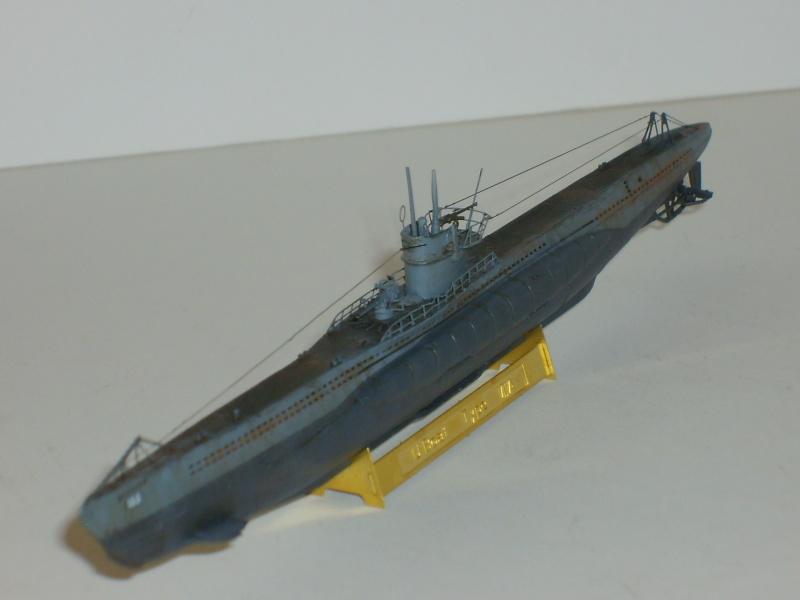 sous marin U-BOAT Type VII par Alex M au 1/350 - Hobby Boss S6000117