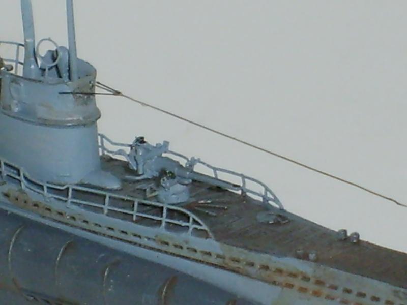sous marin U-BOAT Type VII par Alex M au 1/350 - Hobby Boss S6000118