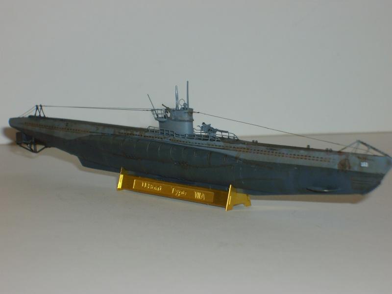 sous marin U-BOAT Type VII par Alex M au 1/350 - Hobby Boss S6000119