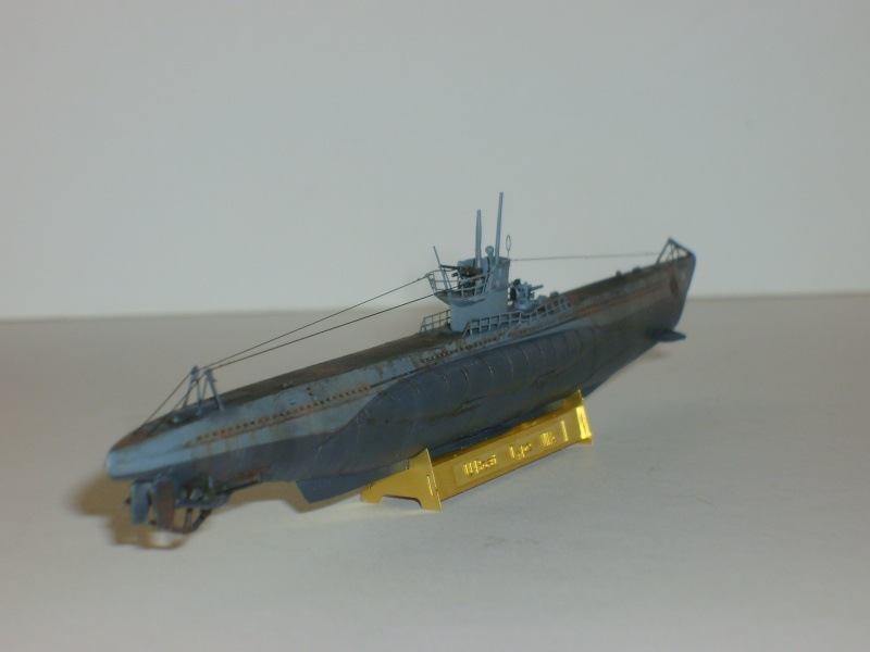 sous marin U-BOAT Type VII par Alex M au 1/350 - Hobby Boss S6000120