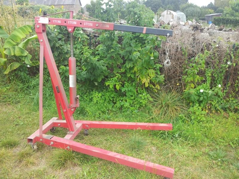 grue d'atelier ou chèvre 1 tonne 20120915