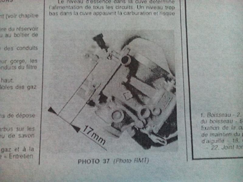carburateur ER5 1997 Hauteu11