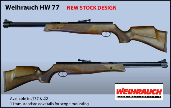 Synthèse sur les carabines Weihrauch et réponses aux questions Hw77_n10