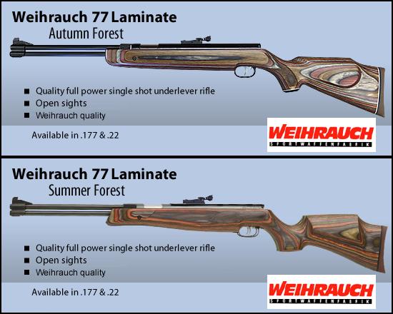 Synthèse sur les carabines Weihrauch et réponses aux questions Hw77la10