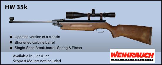 Synthèse sur les carabines Weihrauch et réponses aux questions Hw_35k10