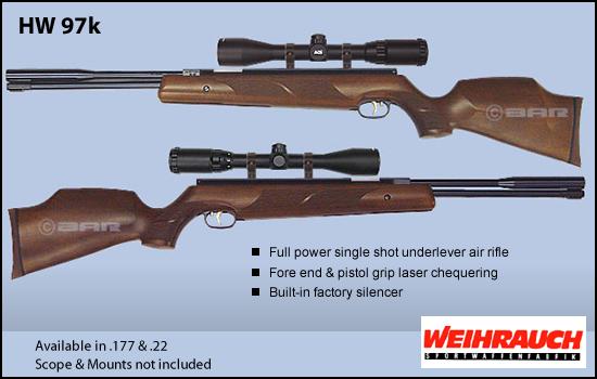 Synthèse sur les carabines Weihrauch et réponses aux questions Hw_97k10