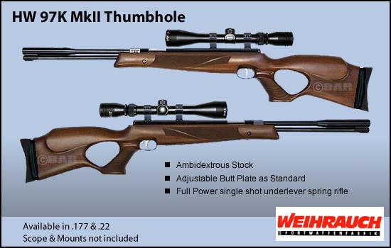 Synthèse sur les carabines Weihrauch et réponses aux questions Hw_97k11