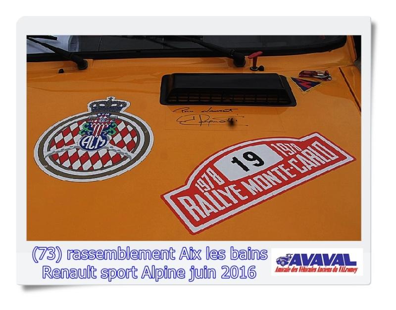 [73] 11/12 juin rassemblement alpine & RS Aix les Bains Dsc09553
