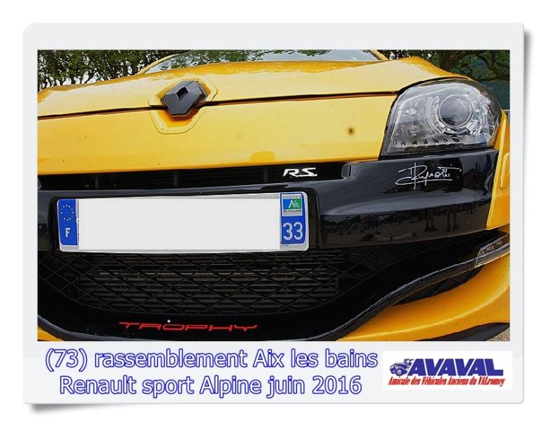 [73] 11/12 juin rassemblement alpine & RS Aix les Bains Dsc09557