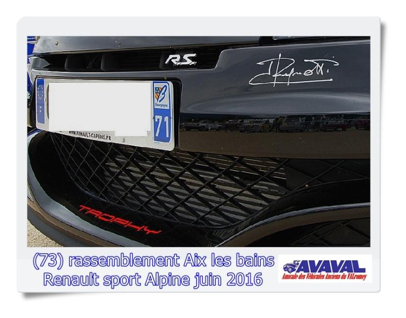 [73] 11/12 juin rassemblement alpine & RS Aix les Bains Dsc09558