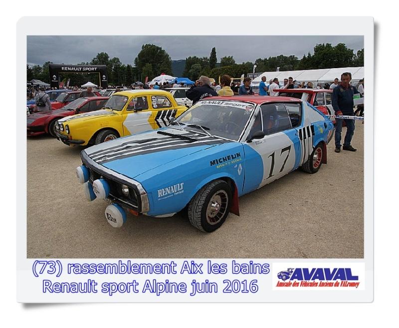 [73] 11/12 juin rassemblement alpine & RS Aix les Bains Dsc09562