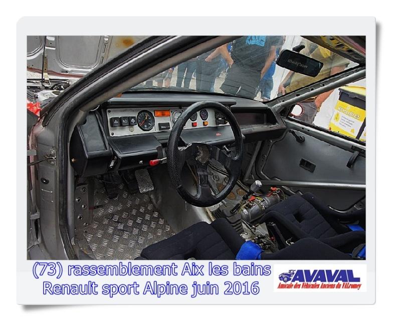 [73] 11/12 juin rassemblement alpine & RS Aix les Bains Dsc09572