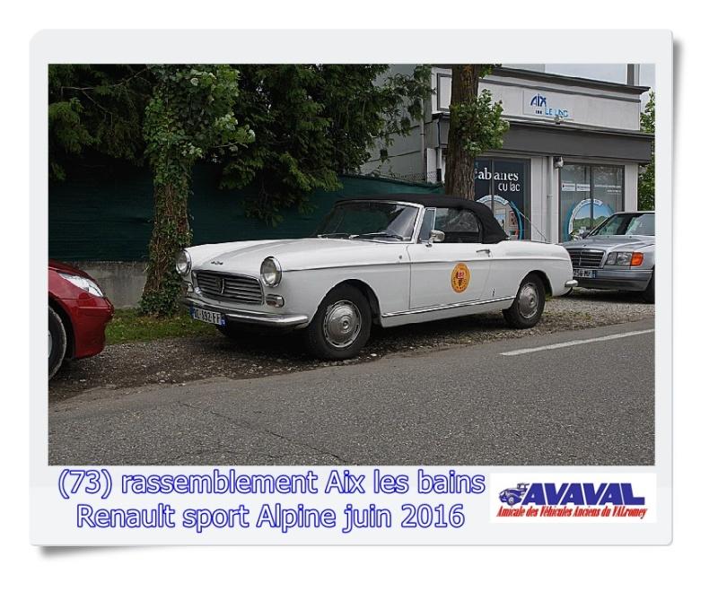 [73] 11/12 juin rassemblement alpine & RS Aix les Bains Dsc09578