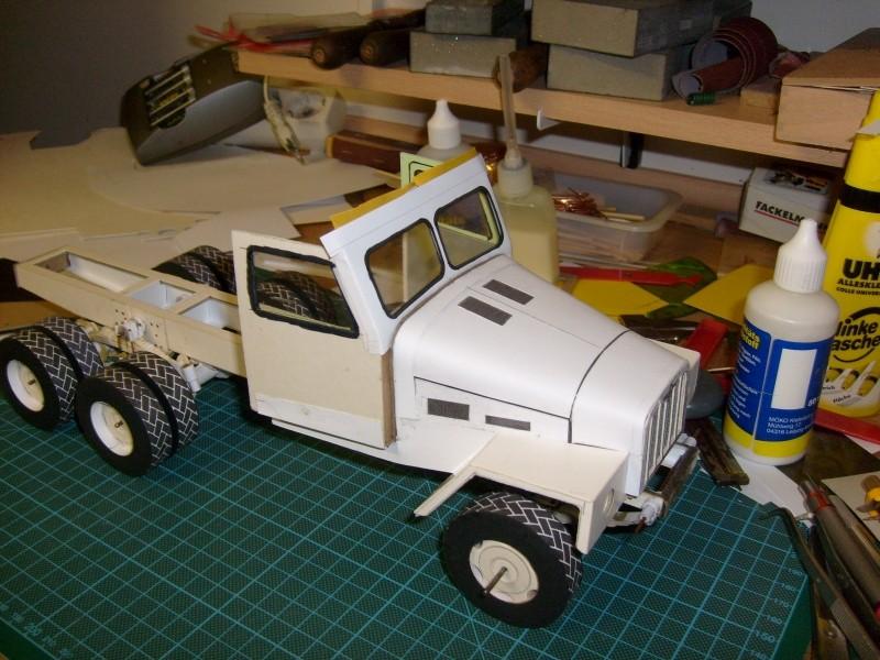 LKW G5 als Tankwagen Maßstab 1:20 gebaut von klebegold 101k10