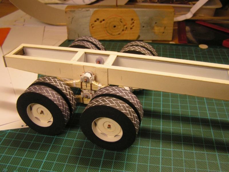 LKW G5 als Tankwagen Maßstab 1:20 gebaut von klebegold 47k10