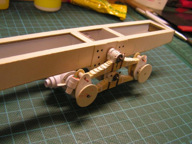 LKW G5 als Tankwagen Maßstab 1:20 gebaut von klebegold 53k10
