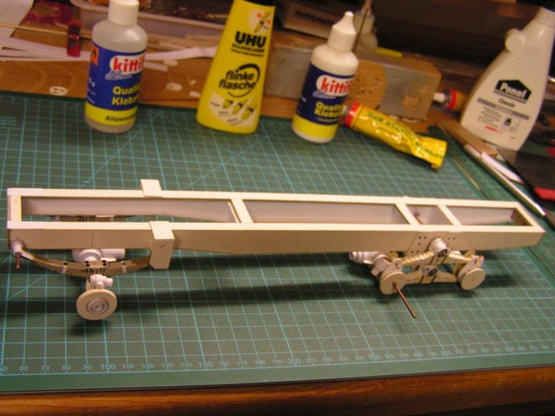 LKW G5 als Tankwagen Maßstab 1:20 gebaut von klebegold 56k10