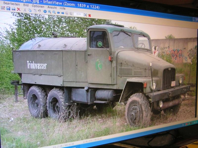 LKW G5 als Tankwagen Maßstab 1:20 gebaut von klebegold 57k10