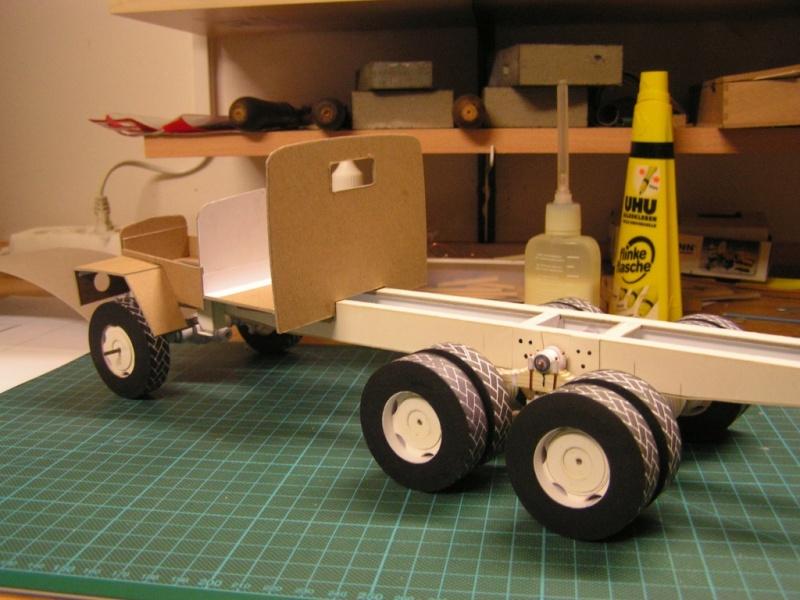 LKW G5 als Tankwagen Maßstab 1:20 gebaut von klebegold 64k10