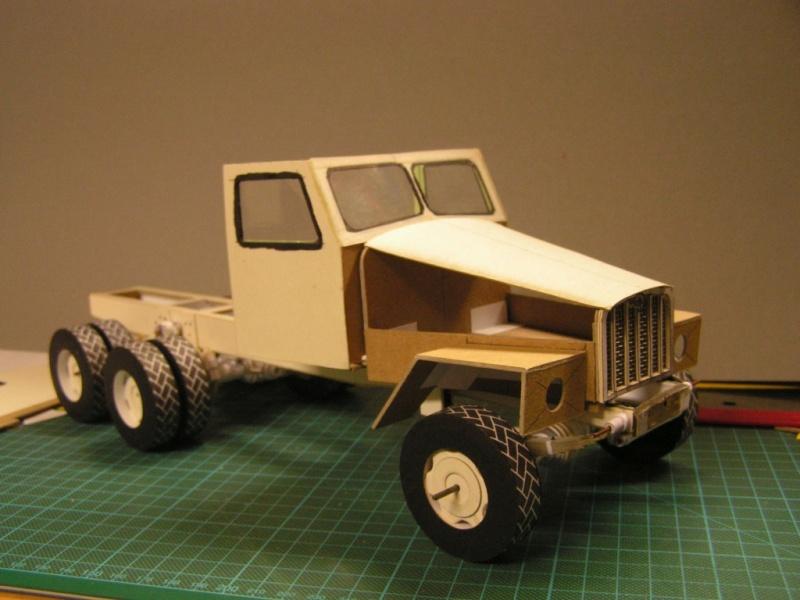 LKW G5 als Tankwagen Maßstab 1:20 gebaut von klebegold 80k11