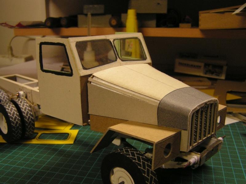 LKW G5 als Tankwagen Maßstab 1:20 gebaut von klebegold 81k10